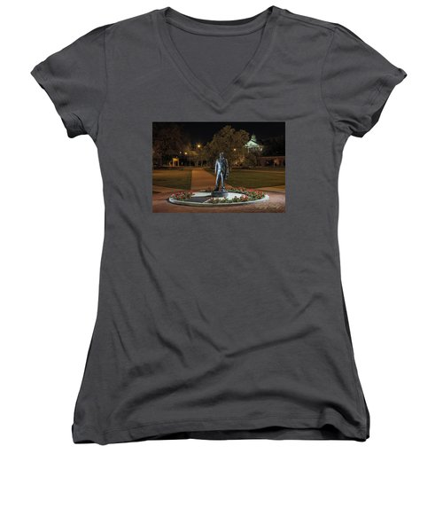 Edwin Stephens At Night Women's V-Neck T-Shirt