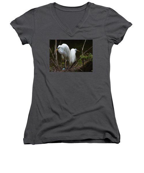 Egrets Women's V-Neck