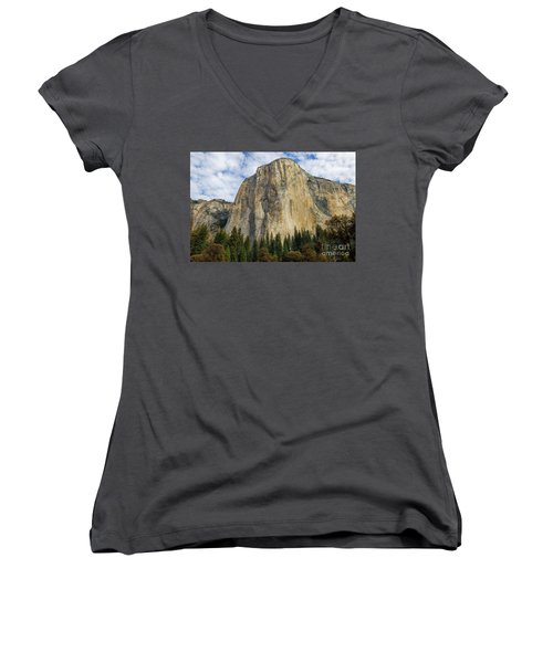 El Cap #2 Women's V-Neck (Athletic Fit)