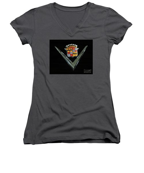 Women's V-Neck T-Shirt (Junior Cut) featuring the photograph Eldorado V by Dennis Hedberg