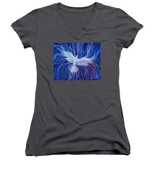 Eperchomai Women's V-Neck