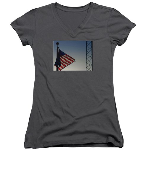 Electric Flag Women's V-Neck