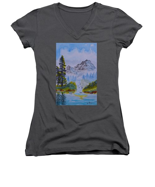 Elements Of Nature 2 Women's V-Neck (Athletic Fit)