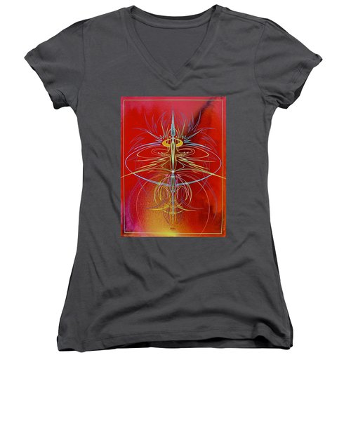 Elijah's Whirl Wind  Women's V-Neck