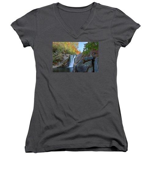 Elk River Falls Women's V-Neck T-Shirt