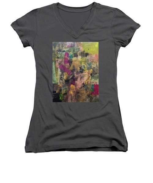 Elusive Women's V-Neck T-Shirt (Junior Cut) by Lee Beuther