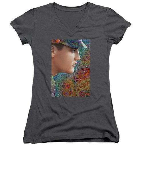Elvis Women's V-Neck