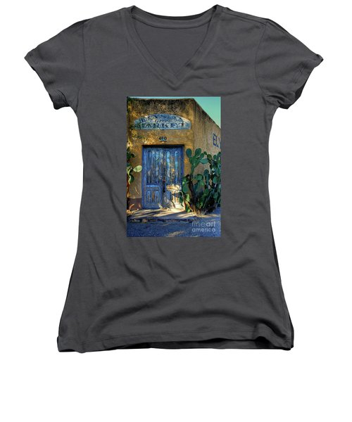 Elysian Grove In The Morning Women's V-Neck (Athletic Fit)