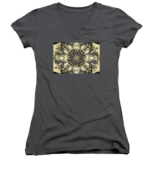 Emblazoned Women's V-Neck (Athletic Fit)