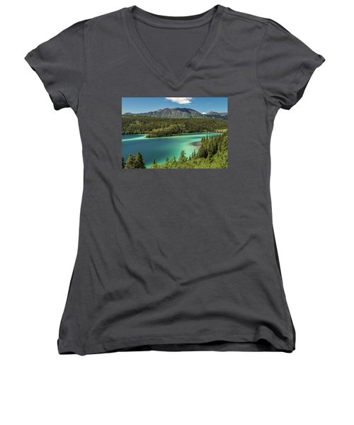 Emerald Lake Women's V-Neck