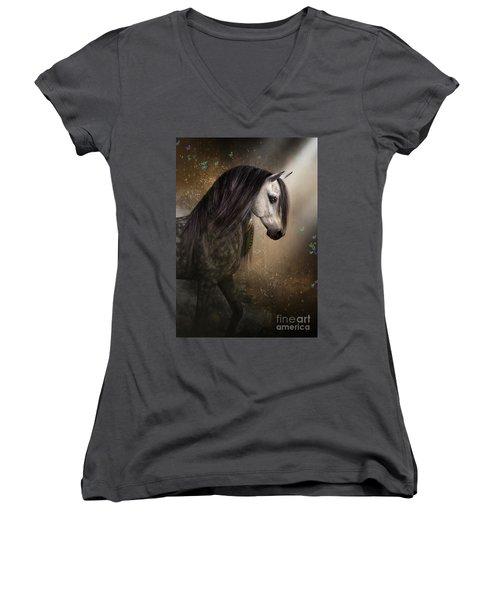 Emerging Women's V-Neck T-Shirt