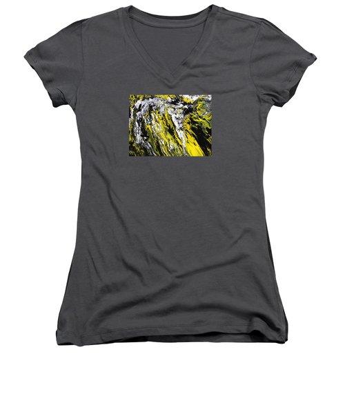 Emphasis Women's V-Neck T-Shirt (Junior Cut) by Ralph White