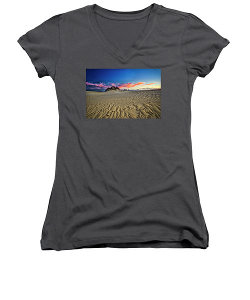 End Of The Day Women's V-Neck T-Shirt