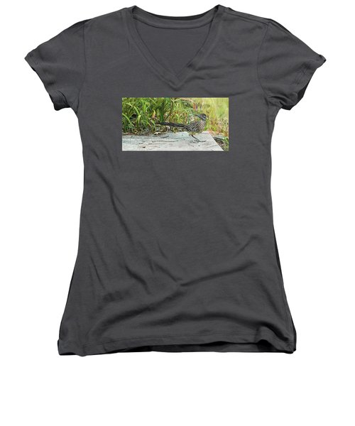 End Of The Road Women's V-Neck (Athletic Fit)