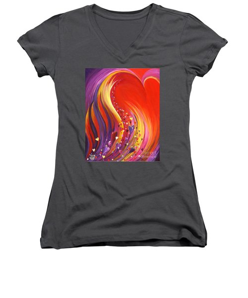 Arise My Love Women's V-Neck