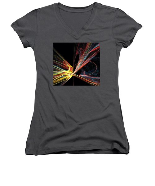 Energized  Women's V-Neck (Athletic Fit)