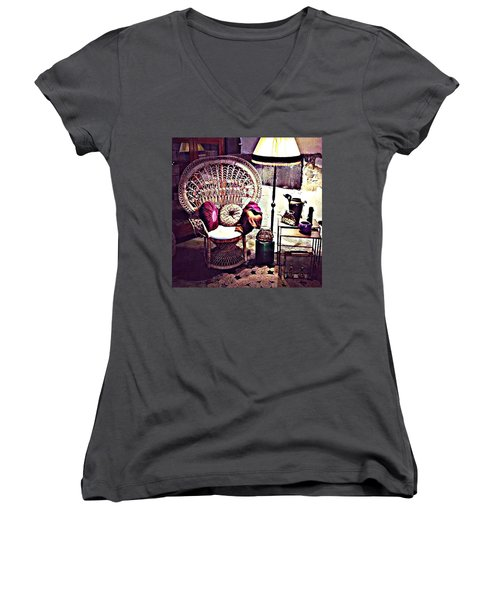 Enjoy The Silence Women's V-Neck