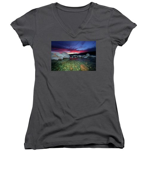 Enter A Tahoe Dream Women's V-Neck