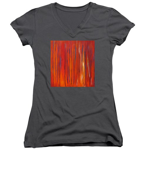 Ephemeral Women's V-Neck (Athletic Fit)