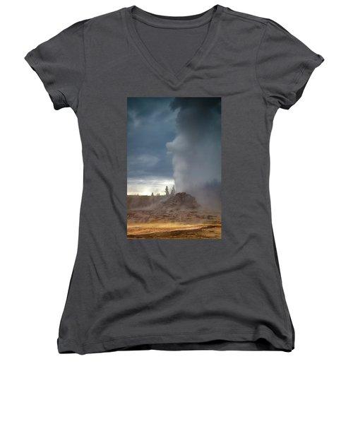 Eruption Women's V-Neck