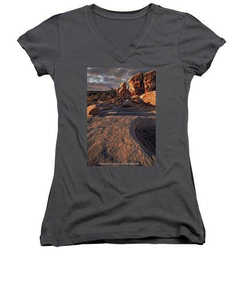 Escalante Desert Sunset Women's V-Neck