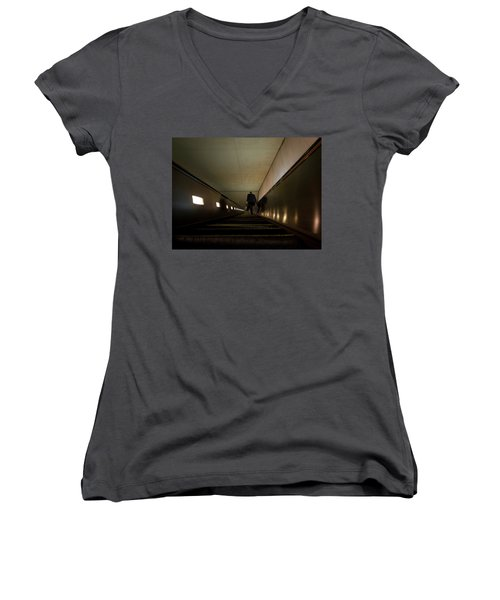 Escalation Women's V-Neck T-Shirt