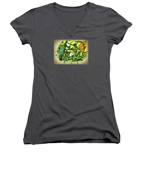 Escape The Whirlwind-2015 Women's V-Neck T-Shirt