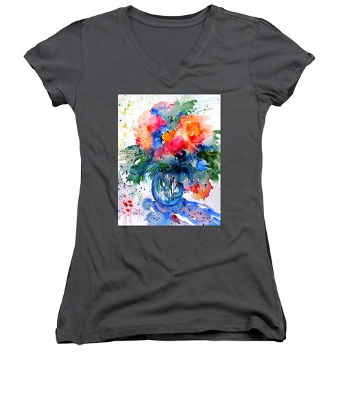Essence Of Summer #2 Women's V-Neck T-Shirt