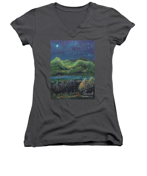 Ethereal Reality Women's V-Neck