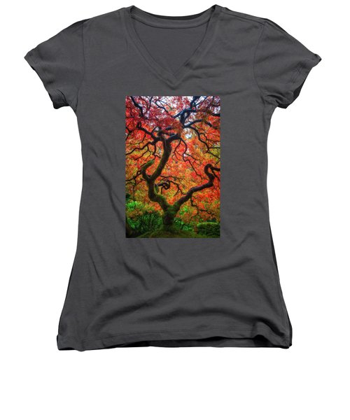 Ethereal Tree Alive Women's V-Neck