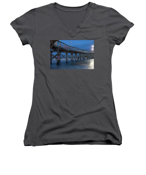Evening Pier Women's V-Neck