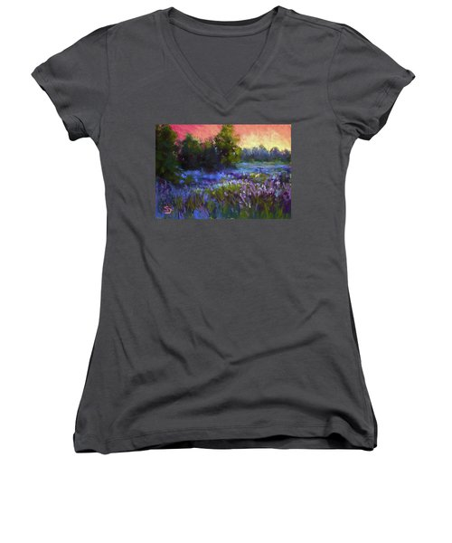 Evening Serenade Women's V-Neck