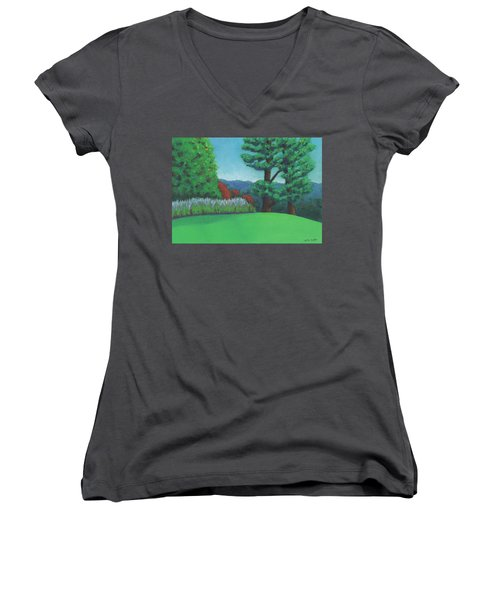 Ever Green Women's V-Neck