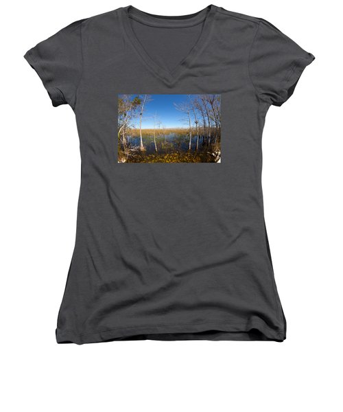 Everglades 85 Women's V-Neck T-Shirt