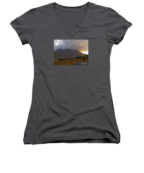 Every Cloud Has A Silver Lining Women's V-Neck