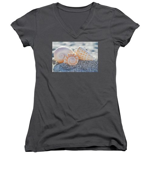 Every Shell Has A Story Women's V-Neck