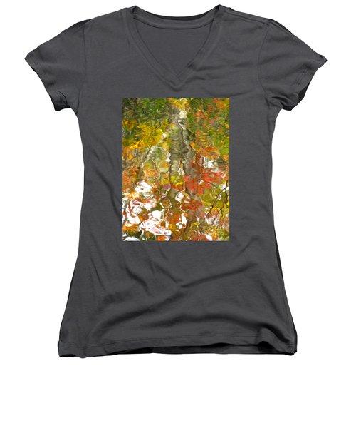 Evidence Of Joy - Feel Women's V-Neck T-Shirt