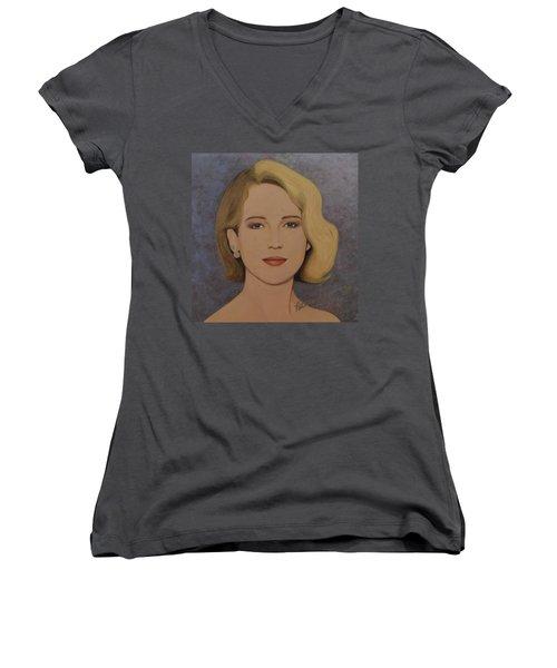 Exquisite - Jennifer Lawrence Women's V-Neck