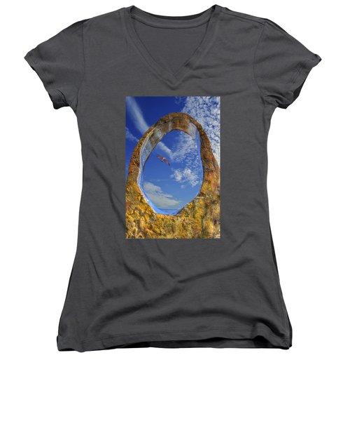 Eye Of Odin Women's V-Neck T-Shirt