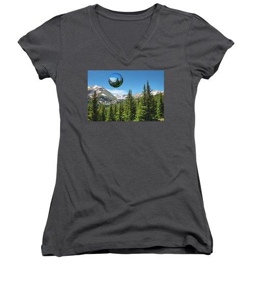 Eye On Summit County Women's V-Neck T-Shirt