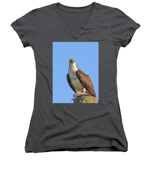 Eyeball To Eyeball Women's V-Neck T-Shirt