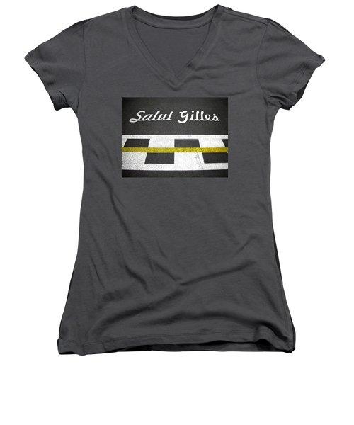F1 Circuit Gilles Villeneuve - Montreal Women's V-Neck