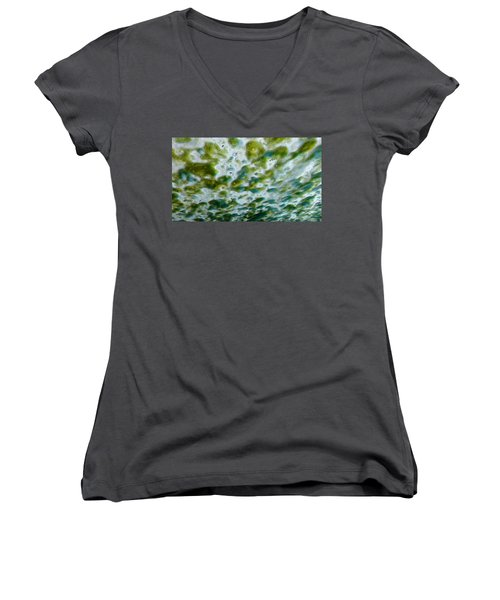 Fabulous In Foam Women's V-Neck T-Shirt (Junior Cut) by Caryl J Bohn