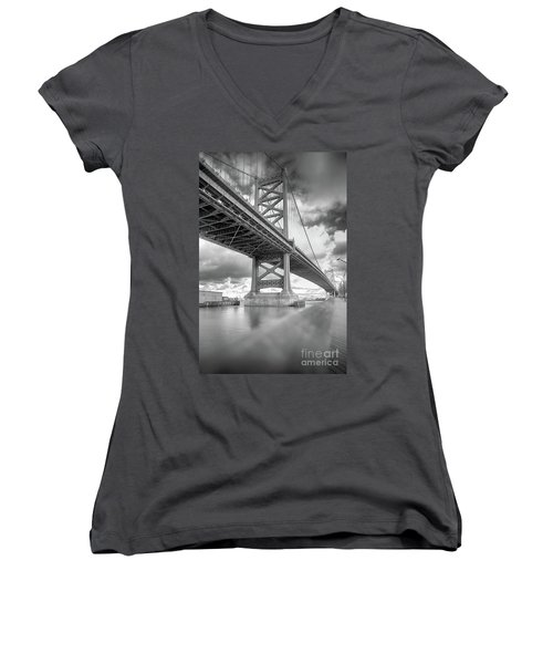 Fade To Bridge Women's V-Neck