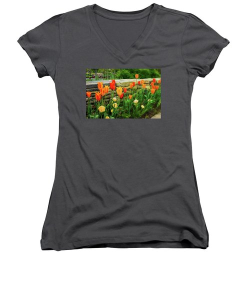 Fading Into The Dream Women's V-Neck T-Shirt