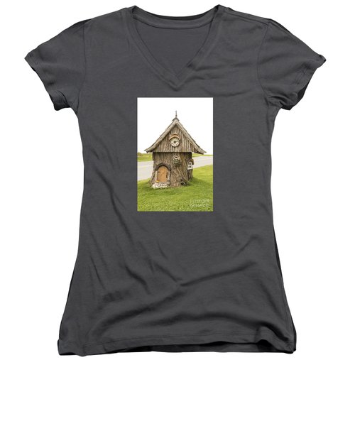 Fairy House In Vermont Women's V-Neck