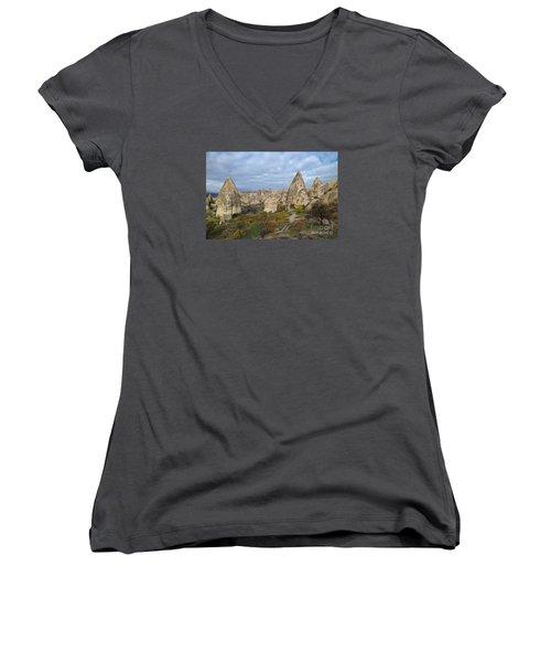 Fairy Tale Of Cappadocia Women's V-Neck T-Shirt