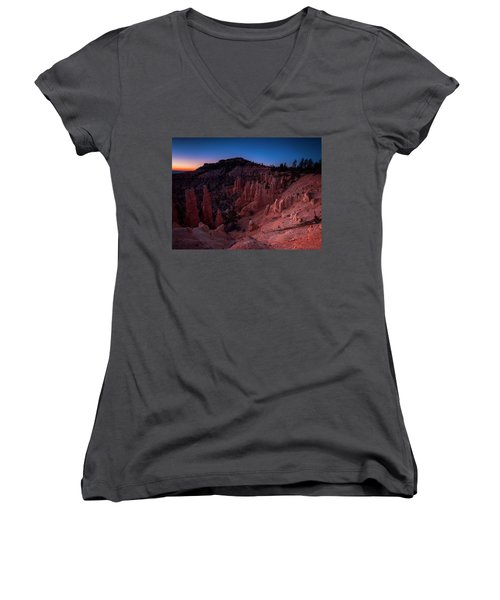 Fairyland Canyon Women's V-Neck (Athletic Fit)