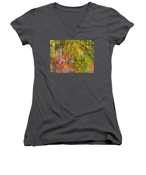 Fall 2016 Women's V-Neck T-Shirt (Junior Cut) by Elfriede Fulda