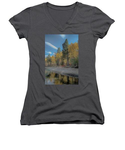 Fall Break Women's V-Neck T-Shirt